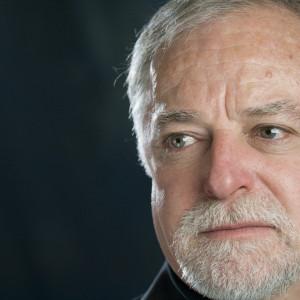 Portrait of a sad senior man